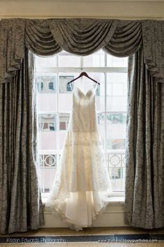 Wedding Gown Shot - The French Bouquet - Kristen Edwards Photography