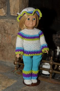 American Girl style 4 piece Icelandic by TresChicDollClothes, $16.00