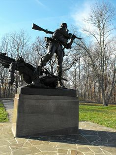 """Gettysburg. This is one of the most expressive monuments on the field. No """"sugar coating"""" on what this represents...the brutality of war is expressed plain & simply."""