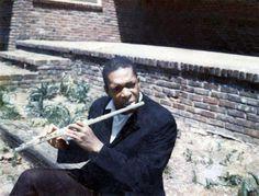 Trane on flute