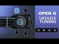 Open G Ukulele Tuning (G B D G) - Online Ukulele Tuner - YouTube Ukulele Tuning, Make It Yourself, Youtube, Youtubers, Youtube Movies