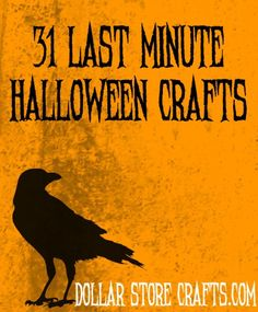 31 last minute halloween crafts
