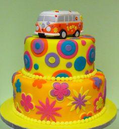 Campervan cake, Hippie cake, bolo pão de forma