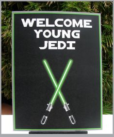STAR WARS Invitation & Printable Birthday Party Collection - lightsaber theme