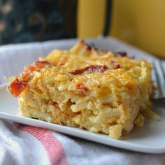 Vegetarian breakfast casserole. Could add spinach and fresh tomatoes