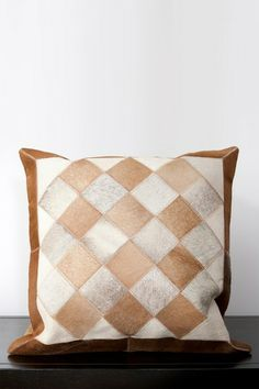 Leather Pillow - Multi by Surya on @HauteLook
