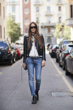 Milan Fashion Week Street Style Spring 2018 Day 5 Cont.