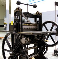 Welcome to Howard Iron Works - Antique Printers and Bookbinders Machinery Restoration and Printing Museum