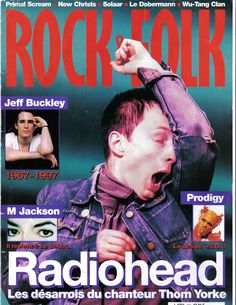 Radiohead - Magazine Covers - 1997 - Rock & Folk