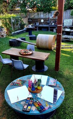 Outdoor Learning Spaces, Kids Outdoor Play, Outdoor Play Areas, Outdoor Education, Backyard For Kids, Outdoor Fun, Outside Playground, Natural Playground, Backyard Playground