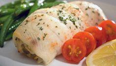 Ricetta Involtini di platessa - Le Ricette di Buonissimo Chicken, Meat, Food, Essen, Meals, Yemek, Eten, Cubs