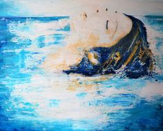 Title: Ocean calls me Technique: Acrylic on canvas Size: 130 x 100 cm Year: 2016 Painting Gallery, Year 2016, Canvas Size, Waves, Ocean, Outdoor, Color, Outdoors, Colour