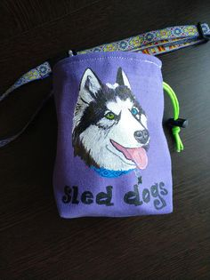d01536de8d Dog treat bag Husky Training dog pouch Dog accessories Dog bag Dog Treat Bag