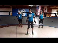 Roller Derby Technique: The Cold Shoulder with San Diego Derby Dolls-so simple, but effective