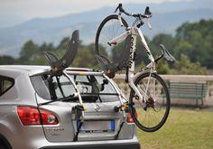 Saris Gran Fondo Cycling Trunk Bicycle Rack New 2 Bike Rear Hatch Tail Gate Suv Bike Rack, Best Bike Rack, Hitch Bike Rack, Bicycle Rack, Bike Storage Stand, Bike Storage Systems, Bike Carrier Rack, Thule Bike, Indoor Bike Rack