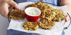 Crunchy Quinoa + Vegetable Fritters - I Quit Sugar