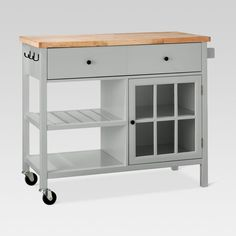 windham wood top kitchen island target grey or ivory kitchen Cheap Furniture, Kitchen Furniture, Kitchen Decor, Furniture Ideas, Furniture Websites, Furniture Dolly, Furniture Removal, Inexpensive Furniture, Kitchen Ideas