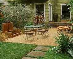 Image detail for -Gravel Dining PatioMediterranean LandscapingRob Steiner GardensLos ...