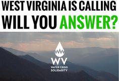 URGENT: Volunteers needed in West Virginia water crisis Volunteers Needed, Big Oil, Long Haul, West Virginia, Effort, Organize, How To Get, Messages, Reading