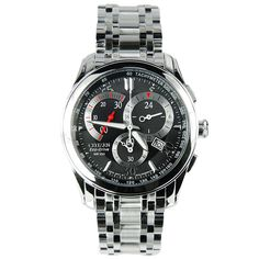 Citizen Stainless Steel Eco-Drive Watch AT1007-51E