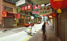 Early morning in Sheung Wan ©philbouasse