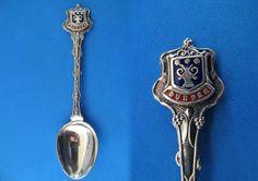 Dundee Scotland Souvenir Collector Spoon Collectible Scottish Vintage | SpoonWorld - Collectibles on ArtFire