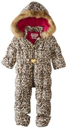 Juicy Couture Baby Baby-Girls Newborn Snowsuit