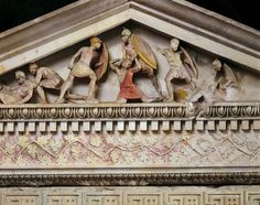 Ioannis Tz @tzoumio  Apr 4  More   Sarcophagus with scenes of the battles of Alexander the Great.From Sidon