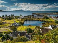 Ellenabeich Isle of Seil. Scotland.