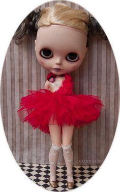 Björk red swan dress