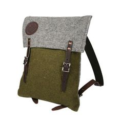 Duluth Pack Foot Soldier Wool Scout Pack, Made in USA