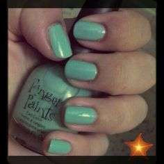Nail Polish  Finger Paints Color Tiffany Imposter