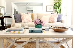 I'd like a coffee table like this in the family room