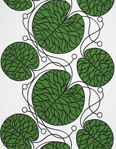 Marimekko 'Bottna' fabric wall art in green, black and white Graphic Patterns, Textile Patterns, Textile Design, Fabric Design, Print Patterns, Pattern Design, Fabric Wall Art, Cool Fabric, Canvas Fabric