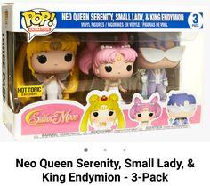 Serena, Rini, and Darien Sailor Moon Merchandise, Funko Pop Anime, Funko Pop Dolls, Neo Queen Serenity, Pop Figurine, Disney Pop, Pop Toys, Nana Gifts, Pop Collection