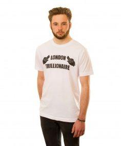 London Trillionaire T-shirt in White