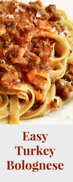 Bolognese with Turkey A Hearty but Healthy Meal Powered by WP Ultimate Recip Pasta Recipes, Cooking Recipes, Healthy Recipes, Cooking Food, Healthy Treats, Easy Indian Recipes, Ethnic Recipes, Lotsa Pasta, Recipes
