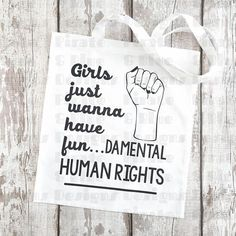 Hey, I found this really awesome Etsy listing at https://www.etsy.com/il-en/listing/528913749/girls-just-wanna-have-fundamental-rights