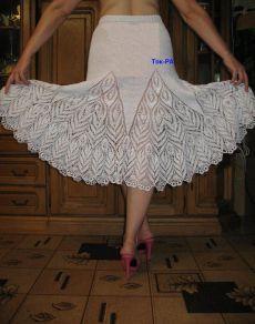 юбки - вязание крючком и спицами