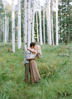 Prairie Engagement Shoot in Flagstaff,AZ