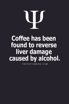 Coffee & Liver Damage