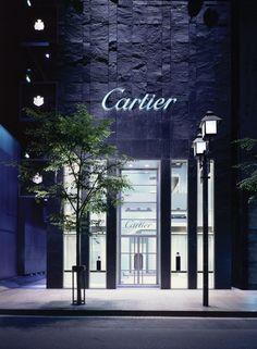 PROJECT: Cartier - Tokyo - Japan.  Bespoke Cladding. STONE: Kirkby Stone  FINISH: Clef