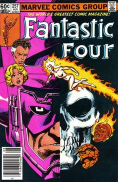 When Galactus eats the Skrull planet, it turns him into a skull!