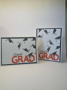 CTMH:  Congrats Graduate stamp set