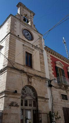 Il Sedile, sede dell'Universitas putignanese. Putignano ( BA ) #invasionidigitali #InvadiAmoPutignano