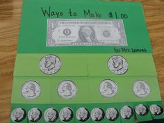Step into 2nd Grade with Mrs. Lemons: Show me the MONEY!: This blog has some great ideas for money counting. It is such a hard concept for kiddos.