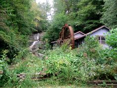 Sylvan Falls Mill, Rabun Gap, Rabun County, Georgia