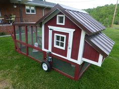 """Image 8 of 9 in forum thread """"My new chicken tractor"""""""