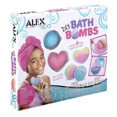 DIY Bath Bombs & Bath Salts Making Activity Toy Kit (Dino)