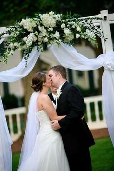 Image result for garden wedding arbors